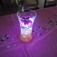 Pink and purple reception