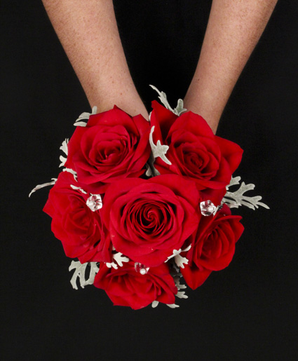 Beautiful Red Prom Bouquet